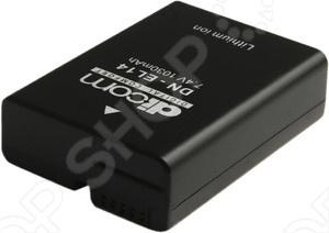 фото Аккумулятор для фотокамеры Dicom DN-EL14, Аккумуляторные батареи для фотоаппаратов и видеокамер