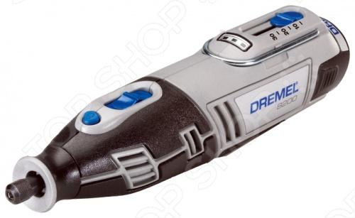 Гравер аккумуляторный Dremel 8100-1 15 многоцелевой инструмент, предназначен для обработки разного вида поверхностей. Применяется в работах по зачистке, полированию и заточке изделий из дерева, стали, алюминия, камня и керамики. Оснащен новым инновационным наконечником EZ Twist для более быстрой смены насадок. Выключатель отделен от кнопки блокировки шпинделя, что предотвращает случайную активацию стопора. Ползунковый переключатель скорости для полного контроля регулировки до 30 000 об. мин. Отличается прекрасной производительностью. Удобная рукоятка с противоскользящим покрытием, облегчит использование и крепко зафиксируется в руке.