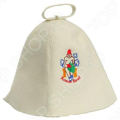Шапка Банные штучки «Хозяин бани» шапка д бани счастья принт войлок
