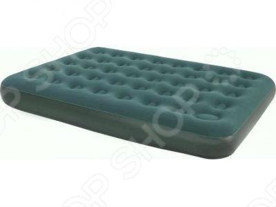Кровать надувная со встроенным ножным насосом Relax Double насос ручной relax inflation двухходовой 36 см