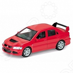 Модель машины 1:34-39 Welly Mitsubishi Lancer Evolution VIII автомобиль mitsubishi lancer evolution 8