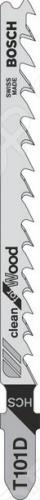 Набор пилок для лобзика Bosch T 101 D HCS