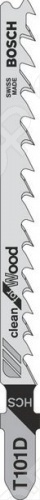 Набор пилок для лобзика Bosch T 101 D HCS набор пилок для лобзика bosch t 101 br 2608630014