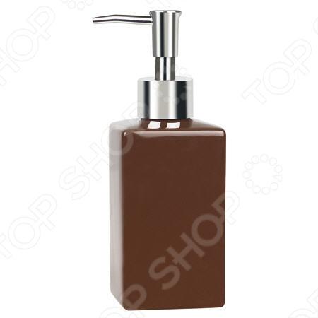 Ёмкость для жидкого мыла керамическая Spirella Quadro
