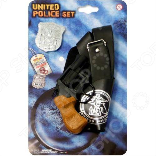 ����� ������������ Edison Giocattoli Polizei United Police-Set
