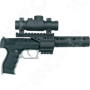 Пистолет с глушителем Schrodel PB 001