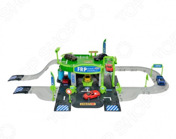 Игровой набор Majorette «Заправочная станция» игровой набор dave toy заправочная станция с 1 машинкой