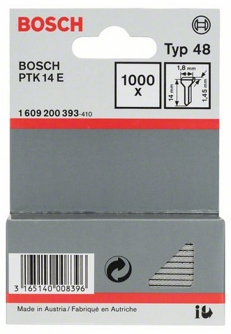 Набор гвоздей Bosch тип 48