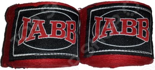 Бинт боксерский Jabb JE-3030 длиной 3.5 метра замечательно подходит для бинтования рук. Всем известно, как важно сохранять и держать в наделанными состоянии руки, которые у боксёра являются основным и главным инструментом борьбы с противником. Именно для этого и предназначен этот бинт. С его помощью вам удастся надёжно и прочно зафиксировать руки в боевом положении и сократить до минимума возможный травматизм во время состязаний или тренировок.