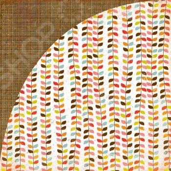 фото Бумага для скрапбукинга двусторонняя Basic Grey Mt fuji, купить, цена