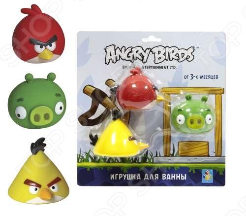 Набор игрушек для ванны 1 TOY Т56593