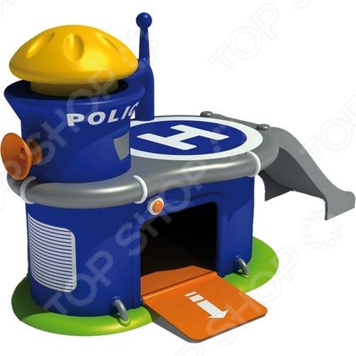 Игровой набор Mondo Motors «Полицейский участок с машинкой» mondo тачки 18 993