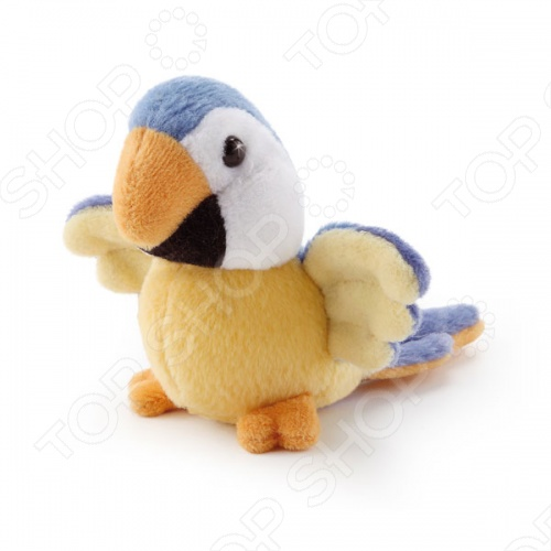 Мягкая игрушка Trudi ПопугайМягкие игрушки<br>Игрушка мягкая Trudi Попугай это замечательный подарок вашему малышу! Игрушка изготовлена из высококачественного гипоаллергенного материала, который абсолютно безвреден для ребенка. Забавная птичка с добрыми глазами украсит любую детскую комнату и принесет радость и веселье во время игр. Trudi Попугай поможет развить тактильные навыки, зрительную координацию и мелкую моторику рук. Изделие можно стирать в стиральной машинке при температуре не выше 30 градусов.<br>