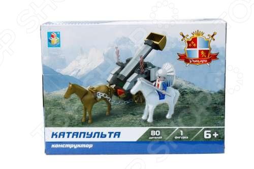 Конструктор игровой 1 Toy «Рыцари. Катапульта»