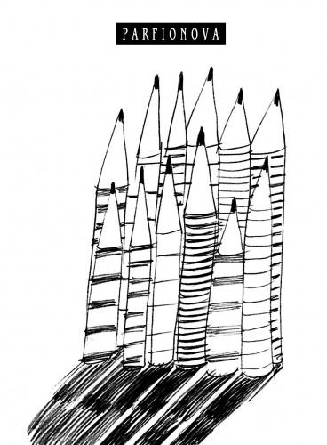 Предлагаем вашему вниманию оригинальный блокнот для записей 12 карандашей . Этот блокнот со стильной минималистичной обложкой и нелинованными страницами идеально подойдет для записи Ваших идей, стихов, набросков. Две закладки-ляссе позволят быстро найти и открыть нужную страницу.