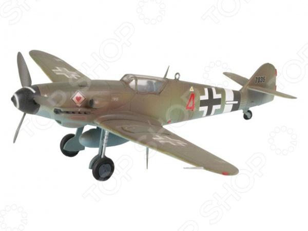 Сборная модель истребителя Revell Messerschmitt Bf-109 сборная модель вертолета revell a 109 k2