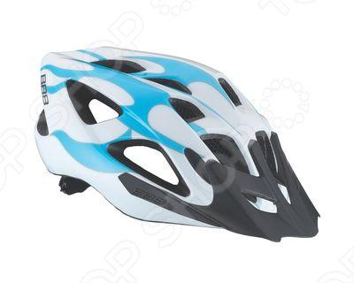 Шлем велосипедный BBB BHE-49 Solo. Цвет: белый. Уцененный товар