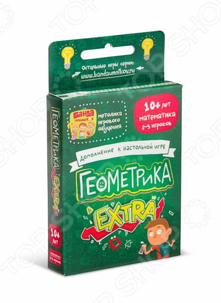 Игра настольная Банда умников Геометрика Extra Игра настольная Банда умников Геометрика Extra /