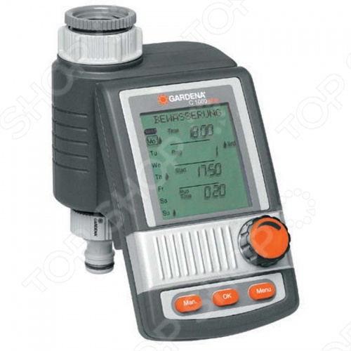 Таймер подачи воды Gardena С 1060 plus таймер подачи воды gardena multicontrol duo 01874 29 000 00