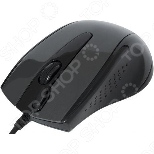 Мышь A4Tech N-500F Black USB мышь a4tech n 500f black usb