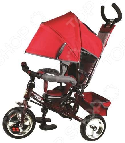 Велосипед трехколесный Navigator Lexus 3 Т55929 станет отличным приобретением для вашего малыша. Он оснащен трехколесным шасси, что гарантирует отличную устойчивость при передвижении по твердым и неровным поверхностям. Модель снабжена ручкой для толкания, удобным сидением со спинкой и ограничителем, тканевым козырьком для защиты от дождя, звонком на руле и задней фиксированной корзиной для игрушек. Велосипед выполнен из высококачественных ударопрочных материалов и предназначен для детей в возрасте от 1 до 3 лет.
