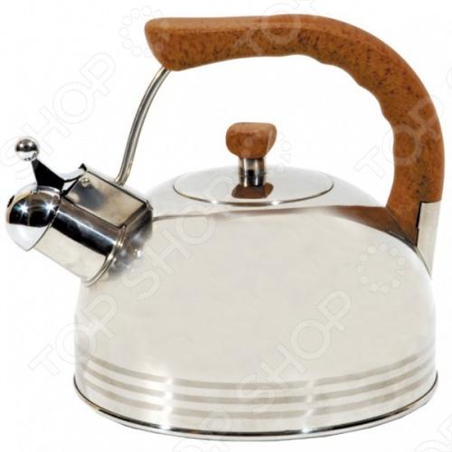 Чайник со свистком Regent 93-2503B чайник со свистком 3 8 л regent люкс 93 2503b 2