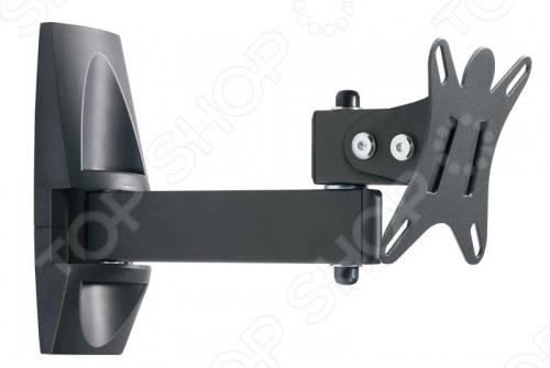 Кронштейн для телевизора Holder LCDS-5004. Основными преимуществами данного кронштейна стали: возможность смотреть телевизор под любым углом зрения, полный набор фурнитуры для быстрого и простого монтажа, спроектирован согласно стандартам VESA.