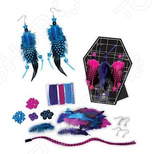 Набор для создания бижутерии из перьев Fashion Angels «Школа монстров» кукла школа монстров ульяновск