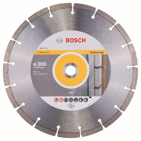 Диск отрезной алмазный для угловых шлифмашин Bosch Professional for Universal диск отрезной алмазный турбо 115х22 2mm 20006 ottom 115x22 2mm