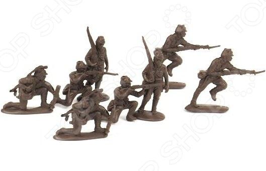 Набор солдатиков Биплант Японская пехота