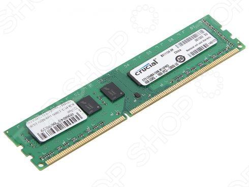 Память оперативная Crucial CT51264BA160B(J) оперативная память crucial bls2cp4g3d1609ds1s00ceu