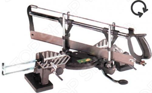 Стусло поворотное FIT 41321 - это профессиональный инструмент, который идет вместе с пилой. Применяется для точного распила необходимых заготовок под углами от 45 до 135 . Изготовлено из алюминиевого сплава, прочного пластика и стали.