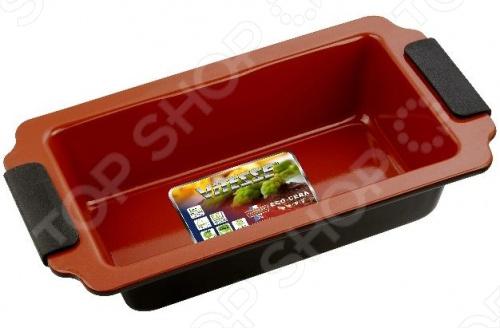 Форма для выпечки Vitesse Chocolate Cherry пригодится для использования в духовых шкафах. Изготовлена из стали. Внешнее покрытие - цветное термостойкое, а внутренне - керамическое премиум-класса Eco-Cera. Выполнена в шоколадно-коричневом цвете. Силиконовые разъемные ручки. Можно мыть в посудомоечной машине.