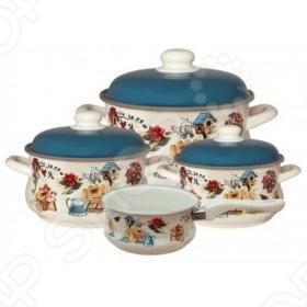 Набор посуды Metrot Дача набор посуды rainstahl 8 предметов 0716bh