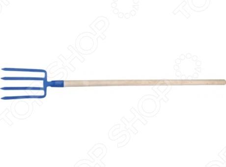 Вилы копальные с деревянным черенком РОС 76994 - незаменимая и весьма нужная вещь в любом хозяйстве! Основными особенностями данной модели стали: 4-х рогость, предназначение для копания, наличие деревянного черенка и материал конструкции - углеродистая сталь. Порадуйте себя и свое любимое хозяйство столь приятным, а главное, полезным приобретением, как вилы копальные с деревянным черенком 76994 от компании РОС!