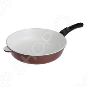 Сковорода литая с керамическим покрытием Нева-металл 972 сковорода с керамическим покрытием гурман