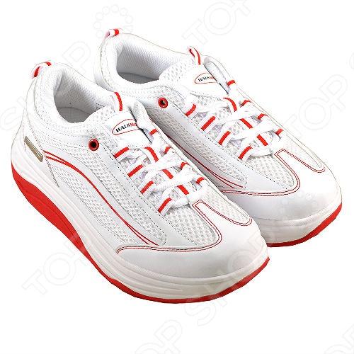 Кроссовки Walkmaxx 2.0. Цвет: белый, красный