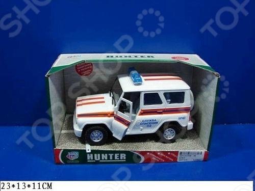 Машина инерционная Joy Toy «УАЗ Hunter - МЧС» Р40513 игрушка joy toy снайпер 7149
