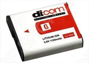 фото Аккумулятор для фотокамеры Dicom DS-BG1, Аккумуляторные батареи для фотоаппаратов и видеокамер