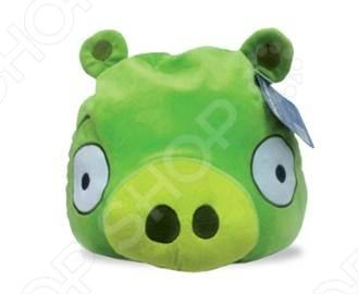 Подушка-игрушка декоративная Angry Birds Green pig angry birds мягкая игрушка свинья 13 см