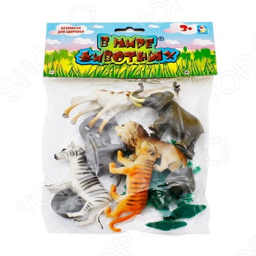 Фигурки-игрушки 1 Toy Т53854 Дикие животные