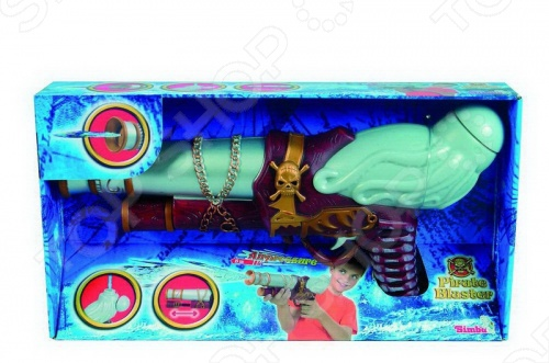 Бластер Simba водныйВодные пистолеты<br>Бластер Simba водный отличный подарок для вашего ребенка. Для использования необходимо залить воду в специальную емкость и ваш ребенок может начинать увлекательную игру. Длина водяного помпового бластера составляет 40 см. Водный пистолет изготовлен из качественной пластмассы и отлично стреляет на дальнее расстояние. Бластер Simba водныйстанет любимой игрушкой вашего ребенка.<br>