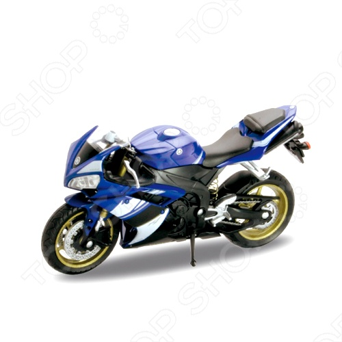 Модель мотоцикла 1:18 Welly Yamaha YZF-R1