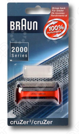 Сетка Braun 20S CruZer является сменным блоком для электрической бритвы. Она имеет специальные отверстия для лучшего бритья и не позволяет оставлять даже самые мелкие волоски. Тем самым, Вы всегда будете оставаться с нежной и чистой кожей. Для бритв Braun серии 2000 Cruzer 20S. Бреющая сетка Smart Foil. Цвет: calypso blue, red. Для моделей: Z60, 2838 тип 5730 ; Z30, Z50, 2775, 2776, 2864, 2865, 2866, 2874, 2876 тип 5733 ; Z20, 2675 тип 5732 ; Z40, Z50, 2778, 2878 тип 5734 .