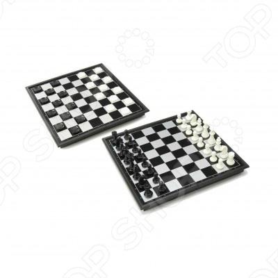 Шахматы и шашки магнитные с доской U3 4912-B
