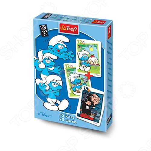 Карточная игра Акулина Trefl «Смурфики-2» все цены