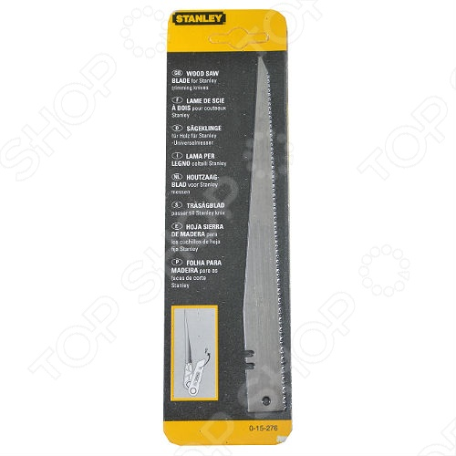 Лезвия для ножа STANLEY 1275В по дереву используется для ножей Stanley 1275В. Необходимо для резки дерева. Изготовлено из инструментальной стали, отличается прочностью и износостойкостью.