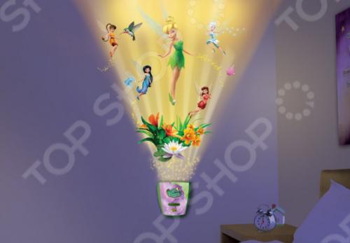 фото Интерактивный настенный проектор Uncle Milton «Сад сказочной феи», Ночники