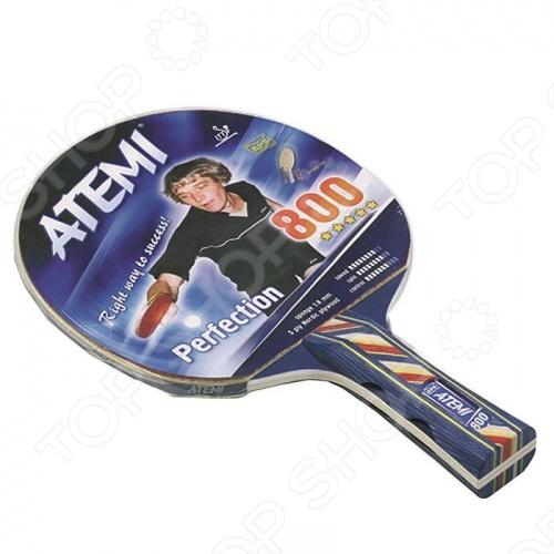 Ракетка для настольного тенниса Atemi 800 AN ракетка для настольного тенниса torneo tour plustable tennis bat ti b3000