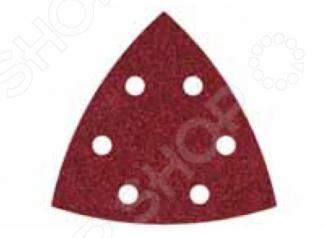 Набор шлифовальной бумаги на липучке Wolfcraft набор д соединений на шкантах wolfcraft диам 6мм